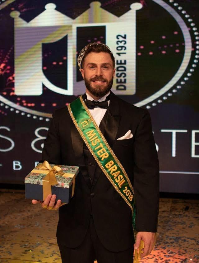 Gabriel Ximenez, Mister Brasil 2018. Foto: Danilo Silva