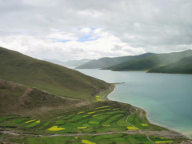 Landschaft in Tibet