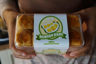 Durian Bars Delicia Cake