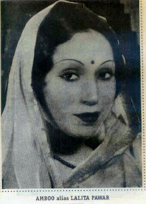 No need to wonder, she can open her both the eyes! The most famous vamp and monster Mother-in-law of India cinema- Lalita Pawar.