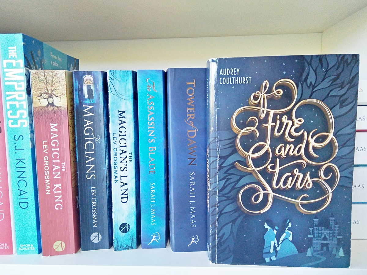 Of Fire and Stars | Audrey Coulthurst | Review on Blogger's Bookshelf