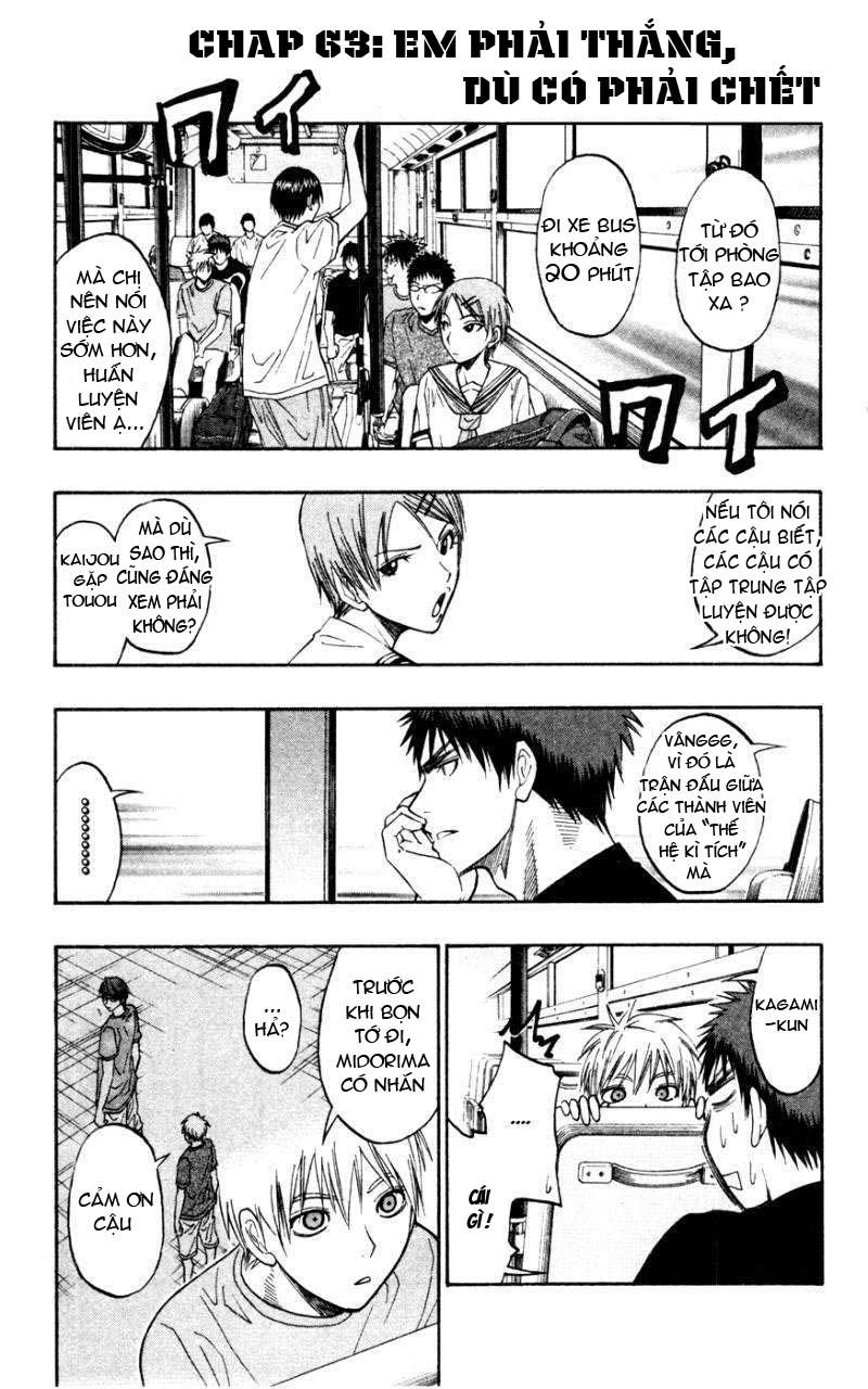 Kuroko No Basket chap 063 trang 3