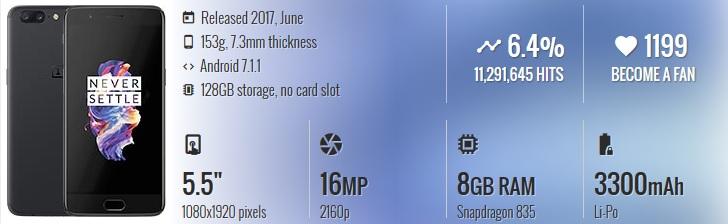 HP China Terbaik & Berkualitas - OnePlus 5