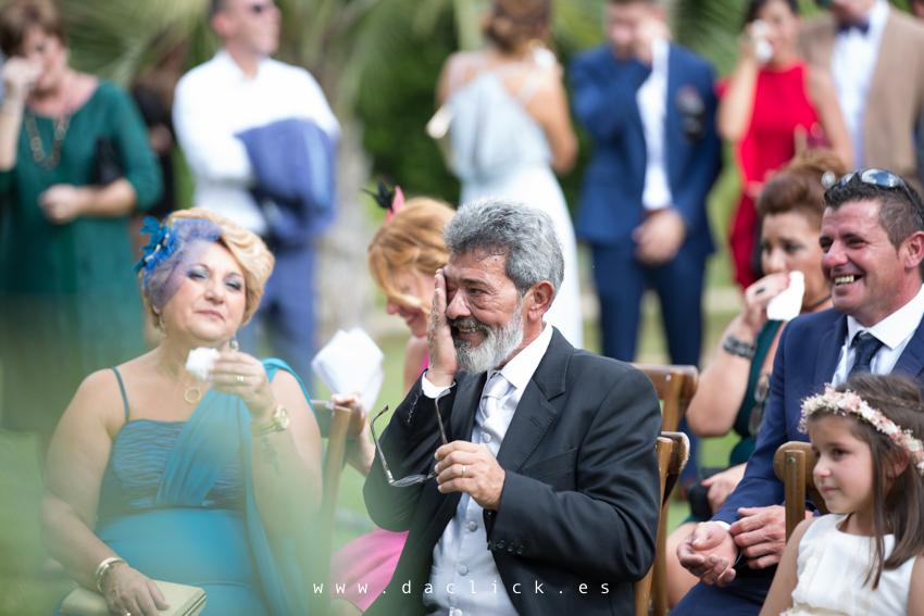 invitados de la boda en Finca El Torrero