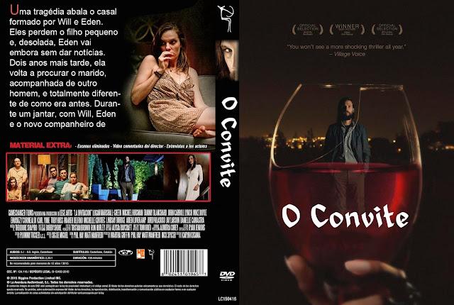 Capa DVD O Convite