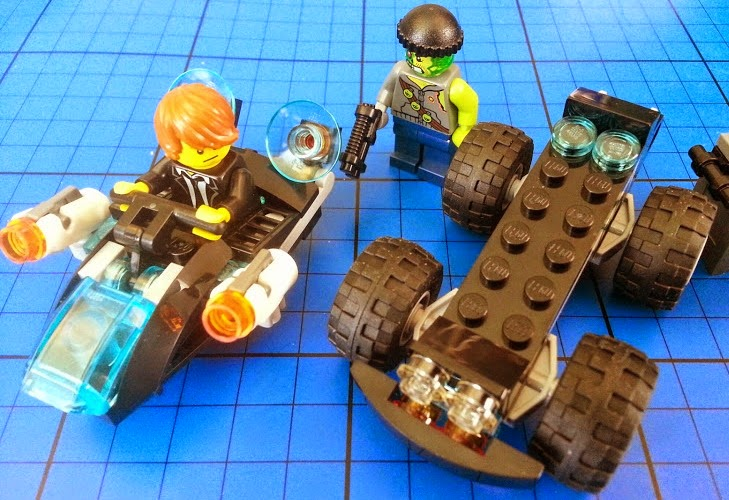LEGO Ultra Agents Riverside Raid 70160 Review 2 in 1 vehicle