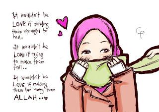 73 Gambar Lucu Islami Kartun Paling Bagus