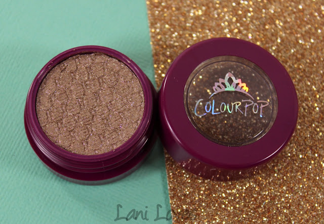 ColourPop Super Shock Shadow - Birthday Boy Swatches & Review