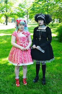 mintyfrills gothic lolita mana old school sweet