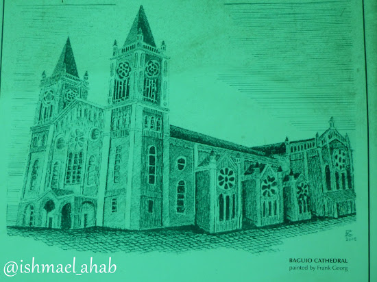 Sketch of Baguio Cathedral