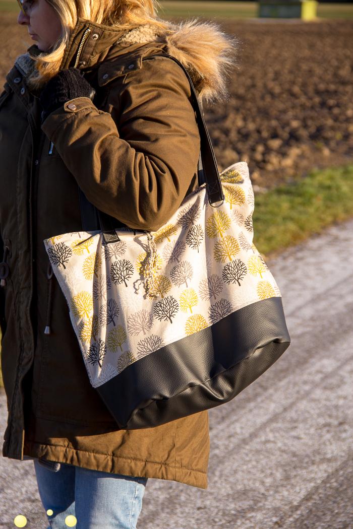 Tipps zum Nähen einer Shoppingbag.