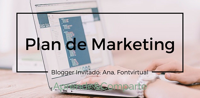 plan de marketing para bloggers
