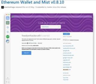 Mist – браузер Ethereum, который также может стать стандартным способом хранения ETH и взаимодействия со смарт-контрактами