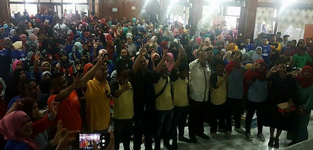 750 Relawan Alang Babega dan Sirangkak Siap Berjuang Menangkan GEMA