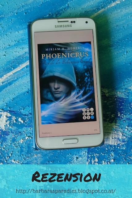 Buchrezension #149 Phoenicrus 3:  Rache der schwarzen Engel von Mirjam H. Hüberli