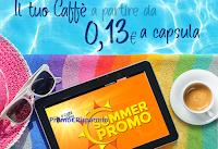 Logo Prezzi Pazzi ad agosto: il tuo caffè a partire da € 0,13 a capsula