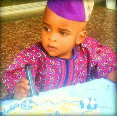 prince adebowale first birthday