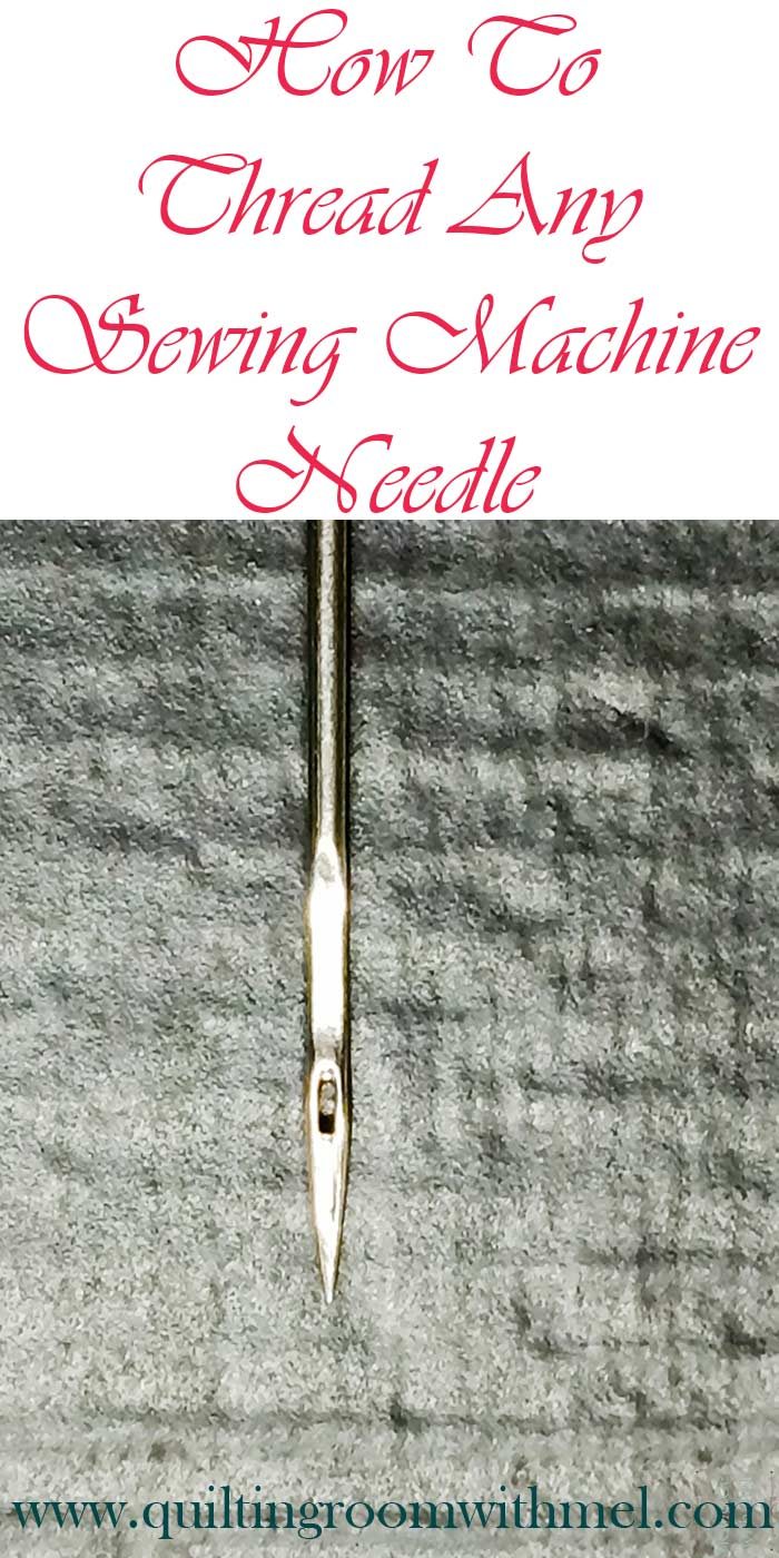 thread any sewing machine needle