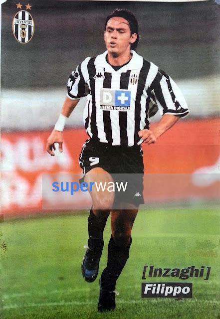 Poster Pippo Inzaghi Juventus 1998