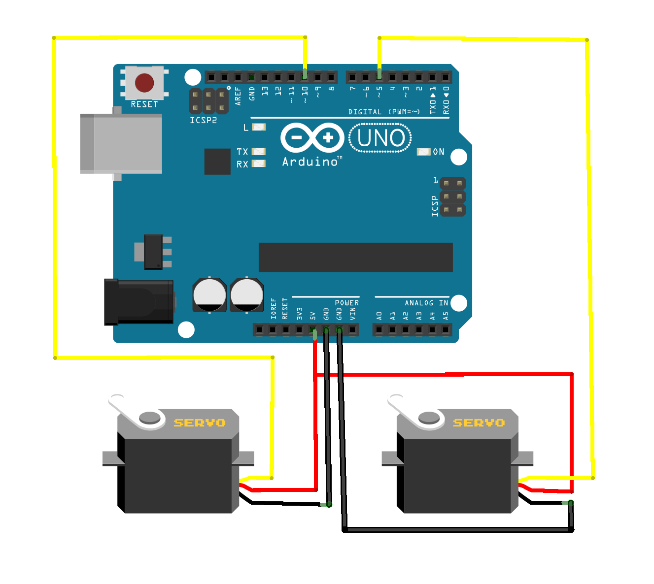 The Answer is 42!!: Bluetooth Controlled Arduino Robot