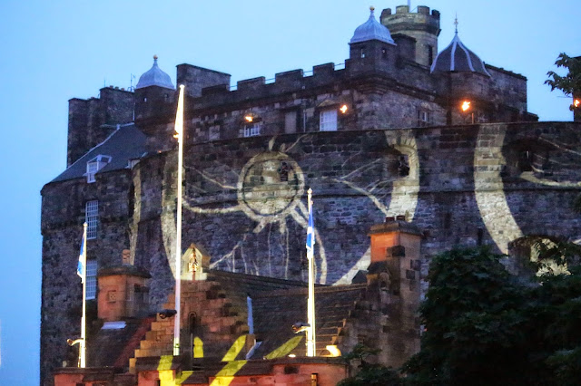 Edinburgh Tattoo Lights