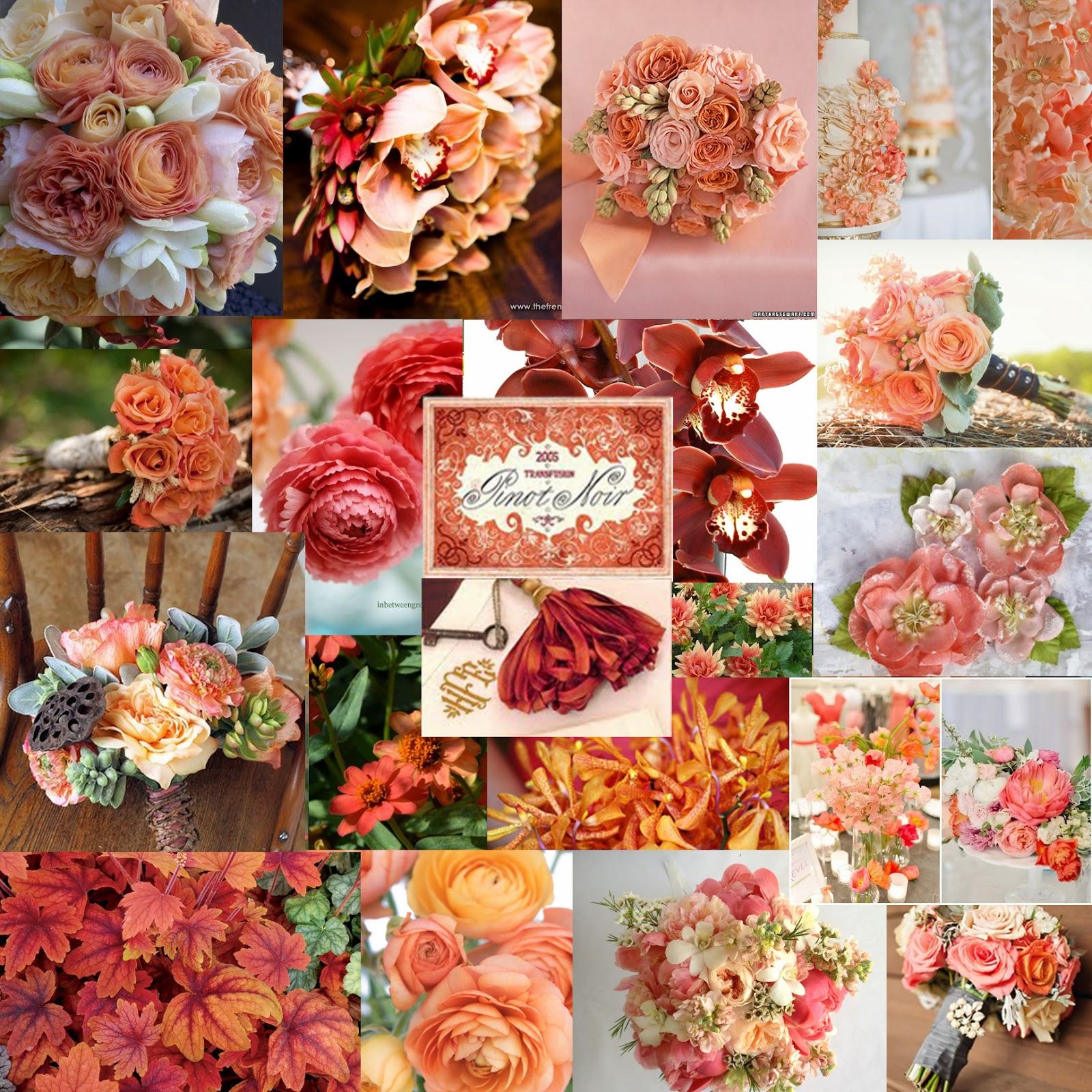 Pinterest Wedding Ideas 2014: The Autumn Wedding: Wedding Colours