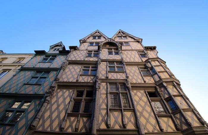 Fachwerkhäuser in Angers