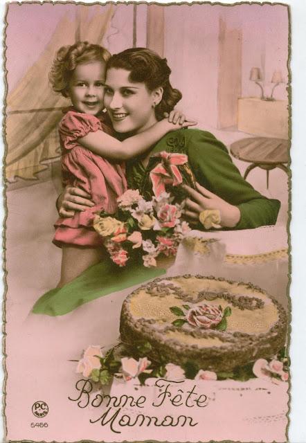 CPA Bonne fête Maman
