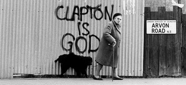Clapton is God - Clapton es Dios