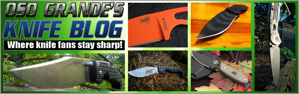 Oso Grande's Knife Blog - Stay Sharp!: 1st Knife Ever with