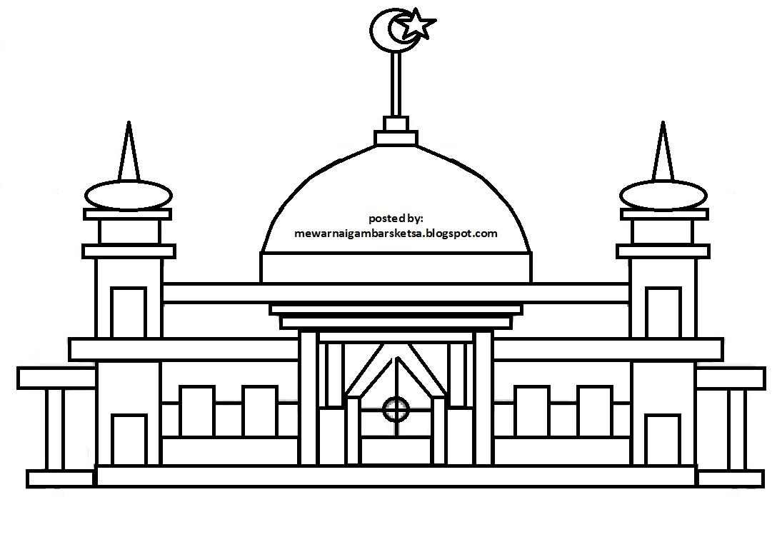 40 Gambar Karikatur Masjid Karitur