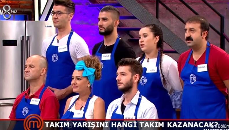 MasterChef Türkiye 9 Eylül Kim Elendi Hangi Takım Kazandı 80