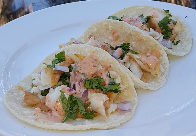 Spicy Chipotle Grilled Fish Street Tacos with LA MORENA®