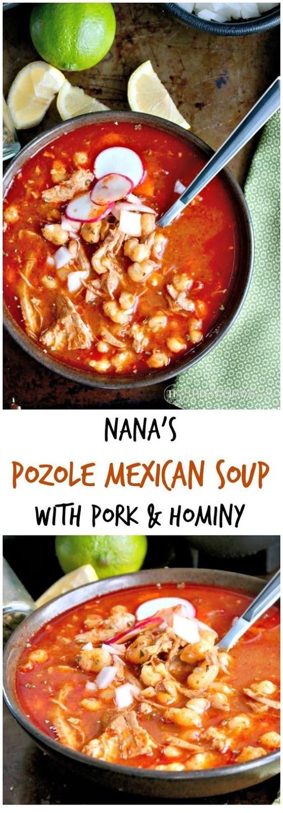 Nana's Pozole Mexican Soup