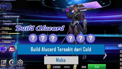 build tersakit alucard terbaik dan terbaru