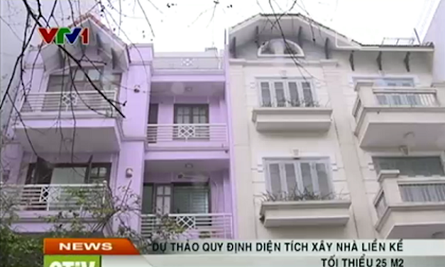 Quyết định của bộ Xây dựng chính thức cho xây căn hộ 25 m2