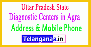 Diagnostic Centers in Agra Uttar Pradesh