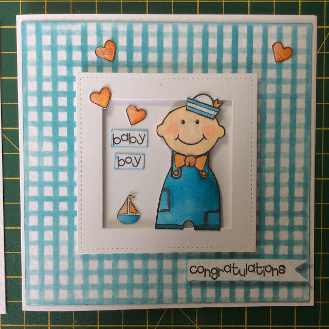 Woodware Baby Stamp Set