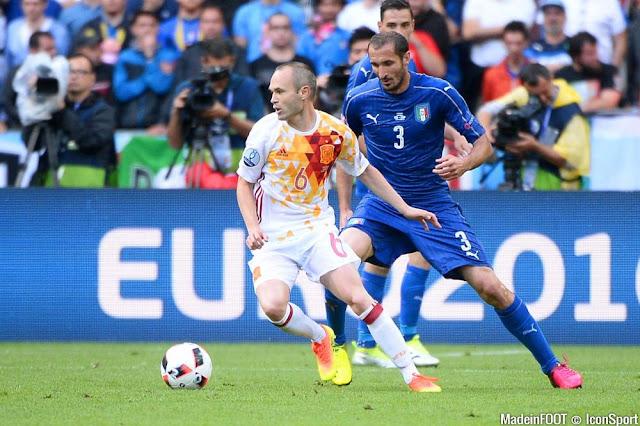 L'Italie élimine l'Espagne, double tenante du titre