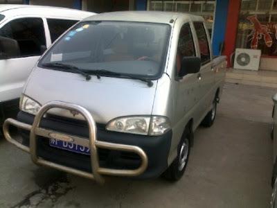 Wuling LZW6370 minivan mirip dengan Daihatsu Espass Pickup