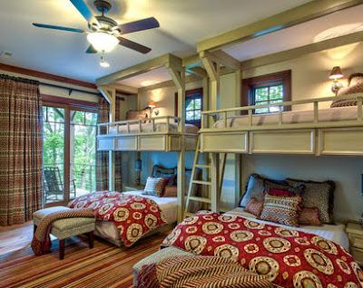 Dormitorio para padres e hijos