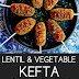 Lentil and Vegetable Kefta {Vegan, Grain-Free, High-Protein, Nut-Free}