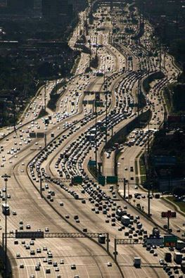 Katy Freeway Houston Texas Officially The Widest Freeway On The Planet