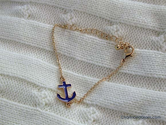 Love Shopping by Ara: Anchor Bracelet from Rings and Tings