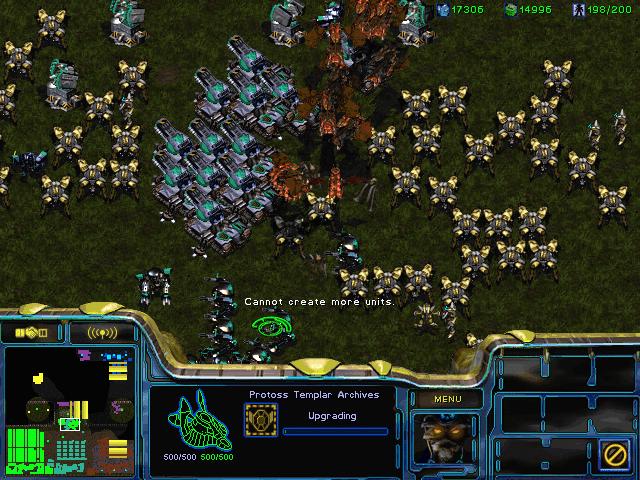Starcraft 1 PC Games Screenshots
