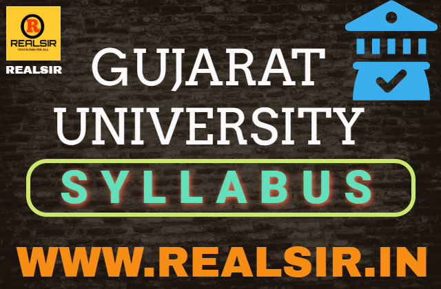 Syllabus of Gujarat University