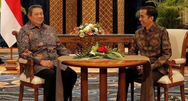 Dikabarkan Akan Bertemu SBY? Begini Jawaban Jokowi..