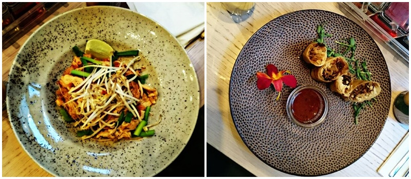 Pad Thai i sajgonki na ciepło Why Thai Food&Wine