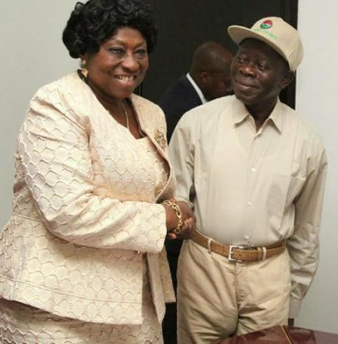 Governor Adams Oshiomhole.... Whats That in your Pocket
