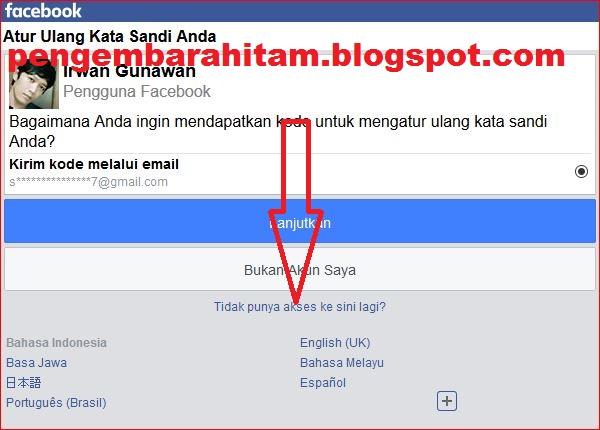 Cara Mengembalikan Akun Facebook Yang Di Hack / Lupa Kata ...